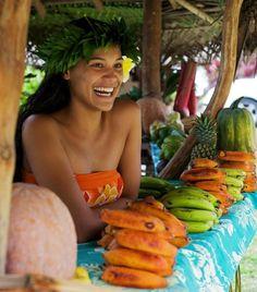 Tahitian girl