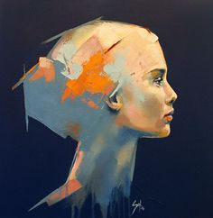 """""""Viente"""" by Solly Smook #portraiture #figurative #painting"""
