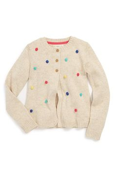Tucker + Tate 'Carly Bobble' Cardigan (Little Girls & Big Girls) available at #Nordstrom