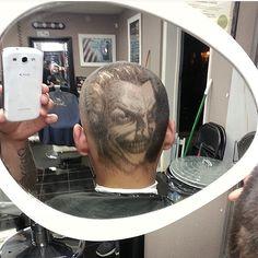 The Joker by BarberGeo @clippercrew