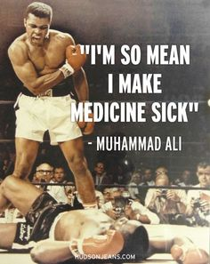 Remembering Muhammad Ali - Now that's confidence!!!