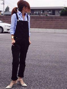 Deuxieme Classeのサロペット・オーバーオール「◆コットンフィットペインターオーバーオール」を使ったmayumiのコーディネートです。WEARはモデル・俳優・ショップスタッフなどの着こなしをチェックできるファッションコーディネートサイトです。
