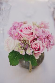 Pink wedding florals | Wedding & Party Ideas | 100 Layer Cake