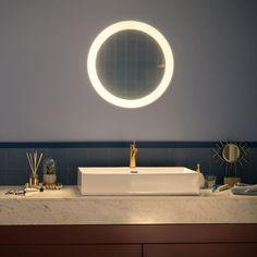 Philips Hue Adore LED Beleuchteter Spiegel Weiß White Ambiance 2400lm... | PHILIPS Hue | 3435731P7 - click-licht.de #light #licht #leuchte #interieurdesign #interieur #lampe #dekoration #dekoideen #philips #philipshue #smarthome #smartlighting #led #interior #wohnzimmer #esszimmer #schlafzimmer #kueche #flur   #innenleuchten #beleuchtung #leuchte #light #badezimmer #spiegelleuchte