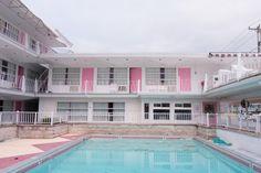 Pink Champagne Motel Pool