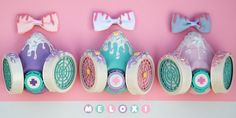 Melty gas masks [Commissions open] by Meloxi on DeviantArt Pastel Goth Outfits, Pastel Punk, Pastel Goth Fashion, Pastel Outfit, Pastel Grunge, Kawaii Fashion, Gothic Fashion, Desenhos Cartoon Network, Kawaii Goth