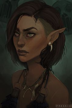 Elven character Ideaz ... Possibly Mairi's mother.