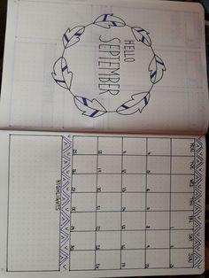 This is my monthly log for September:) #helloseptember #bulletjournal #highlights #monthlylog #month #september2017 #journaling