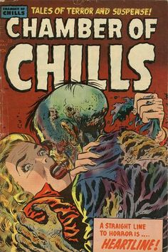 Excellent pre-code horror comics cover.
