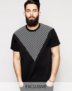 Reclaimed Vintage T-Shirt With Chain Cut and Sew