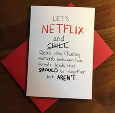 For the girlfriend who shares your favorite pasttime: | 18 Valentine's Day Cards Women Will Actually Want To Give To Their Girlfriends