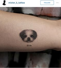 Another pup tattoo