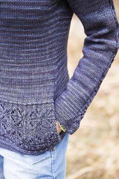 Ravelry: Maisie pullover pattern by Hanna Maciejewska Sweater Knitting Patterns, Lace Knitting, Knitting Stitches, Knitting Designs, Knit Patterns, Knitting Projects, Knit Crochet, Knit Lace, Raglan Pullover