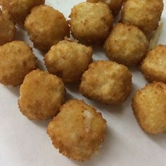I can't get enough of deep-fried pepper jack cheese balls at B and B Grocery, Meat and Deli.