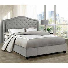 Milan Grey Bed