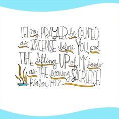 Psalm 141:2❤️
