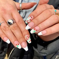Nail Inspo, Marshmallow, Claws, Rio, Extensions, Daisy, Cherry, Nail Art, Cover