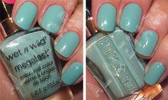 Light turquoise/ mint, Wet'n'Wild I Need a Re-Fresh Mint