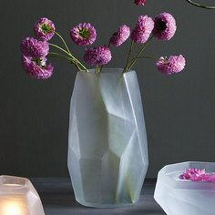 Chisel Vase White, $65, now featured on Fab.