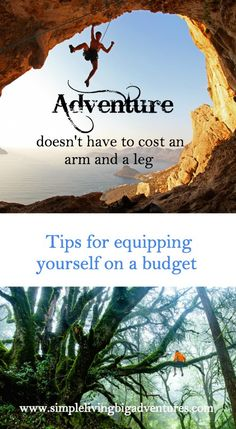 Love adventure but fear the cost of buying equipment? We have some tips on how to get more bang for your buck. Backyard Farming, Simple Living, Budgeting, Wanderlust, How To Get, Posts, Adventure, Vacation, Tips