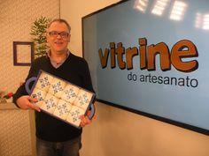 Bandeja com Gabarito Azulejo com Luiz Poletti | Vitrine do Artesanato na TV