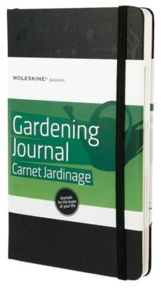 Moleskine Passion Journal - Gardening, Large, Hard Cover (5 x 8.25)