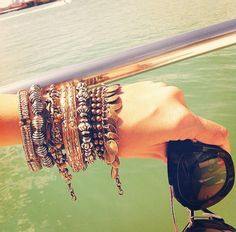 ... tendance, look, bijoux  Bijoux  Pinterest  Boho chic, Bijoux and