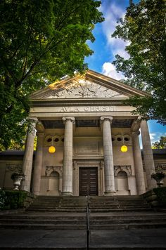 'Avla' means 'Hall' in 'Old' - The Hall of Christ at Chautauqua Institution, New York.
