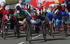 London Marathon David Weir fails in attempt to win seventh title as Kurt Fearnley finishes first David Weir, Sunday In London, Boston Marathon Bombing, London Marathon, Athlete, It Is Finished, Sports, Disability, Fails