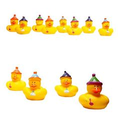 Birthday Party Rubber Ducks