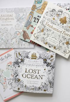 Trendspotting: Adult Coloring Books - Run To Radiance