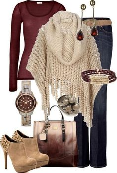 fall-and-winter-outfit-ideas-2017-65-1 50+ Cute Fall & Winter Outfit Ideas 2017