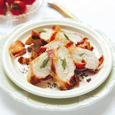 Gevulde kipfilet omwikkeld met pancetta - recept - okoko recepten