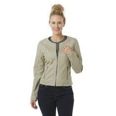 Metaphor Womens Moto Jacket Faux Leather Cobblestone Solid size M L XL NEW   https://www.ebay.com/itm/Metaphor-Womens-Moto-Jacket-Faux-Leather-Cobblestone-Solid-size-M-L-XL-NEW-/263503380273?var=&hash=item82f989f3f9