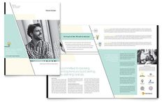 Venture Capital Firm Brochure Template Design by StockLayouts