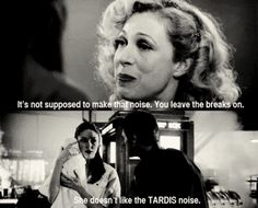 you leave the breaks on tardis noises doctor who river song melody pond