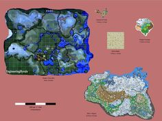 Zelda: The Breath of the Wild map comparison between Ocarina of Time, Wind Waker, Twilight Princess and Elder Scrolls V: Skyrim. Skyrim, Zelda Map, Virtual Boy, Cloud Gaming, Future Games, Nasa Photos, Game Streaming, Magnum Opus, Cyberpunk 2077