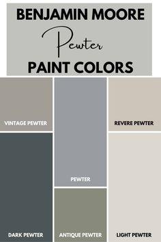 Basement Paint Colors, Office Paint Colors, Greige Paint Colors, Dark Paint Colors, Popular Paint Colors, Farmhouse Paint Colors, Paint Colors For Living Room, Paint Colors For Home, Benjamin Moore Exterior