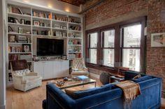 "Michael's ""Comfortable Modern"" Rowan Building Loft House Tour | Apartment Therapy"