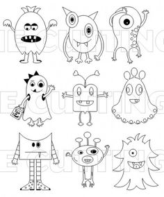 Monster Drawing Easy - Monsters So Cute And Easy Doodle Drawings Monster Drawing How To Draw A Little Monster Step By Step Drawings Tutorials How To Draw Cartoon Monsters Ho. Doodle Monster, Monster Drawing, Monster Art, Monster Dolls, Monster Sketch, Doodle Drawings, Doodle Art, Easy Drawings, Cute Monsters