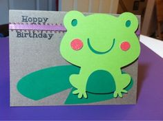 I just love this frog!