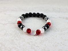The Hearts & Jewels Collection Limited Edition ♥ Glass, Lava, Metal, Stone, Wood & Swarovski Crystal Essential Oil Diffuser, Essential Oils, Heart Bracelet, Lava, Swarovski Crystals, Hearts, Sparkle, Beaded Bracelets, Wellness