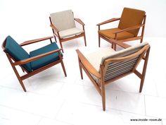 Arne Vodder Easy Chairs