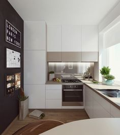 5 Contrasting Small Apartment Designs