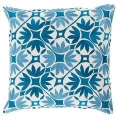 Floral Geo by Kate Spain Toss Pillow