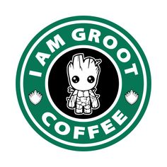 Check out this awesome 'I+am+Groot+Coffee' design on @TeePublic!