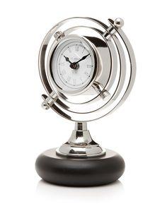 St. Regis Meridian Clock on Black Base, Silver/Black, http://www.myhabit.com/redirect/ref=qd_sw_dp_pi_li?url=http%3A%2F%2Fwww.myhabit.com%2F%3Frefcust%3DU3DSQF2NZ627SG6SAO4VHAH64I%23page%3Dd%26dept%3Dmen%26sale%3DAEYWBZ6Y57H47%26asin%3DB00CP93SVW%26cAsin%3DB00CP93SVW