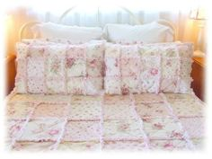 Raggy Ruffled Patchwork Quilts