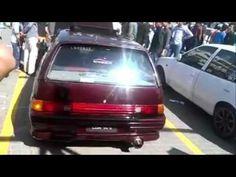 Suzuki Mehran & Charade Back Fire Stunt At Faislabad Auto Show