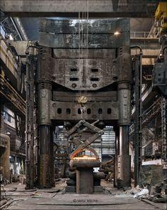 Pilsen Steel, Pilsen_120 MN forging press | Viktor Mácha